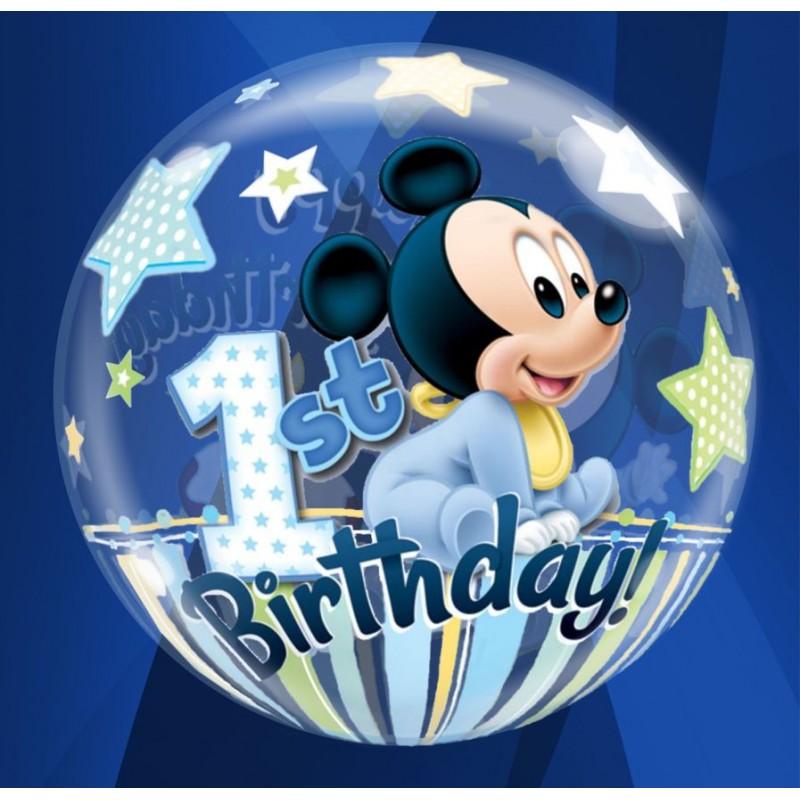 "1st Birthday Mickey (22"")(PQ/D1208)"