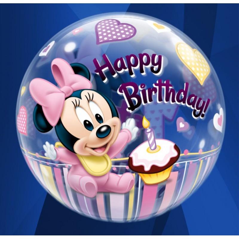 """1st Birthday Minnie (22"""")(PQ/D1210)"""