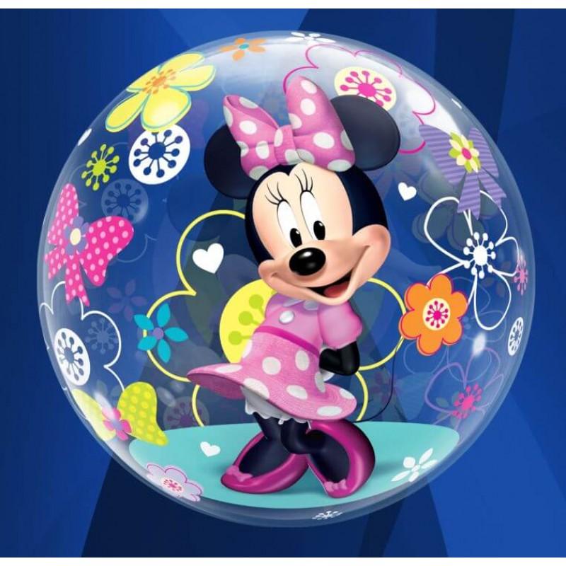 Qualatex Disney Bubbles Balloons - Minnie Mouse