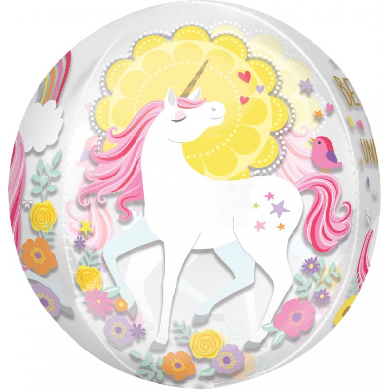 Magical Unicorn - Orbz Balloons (Cattex)