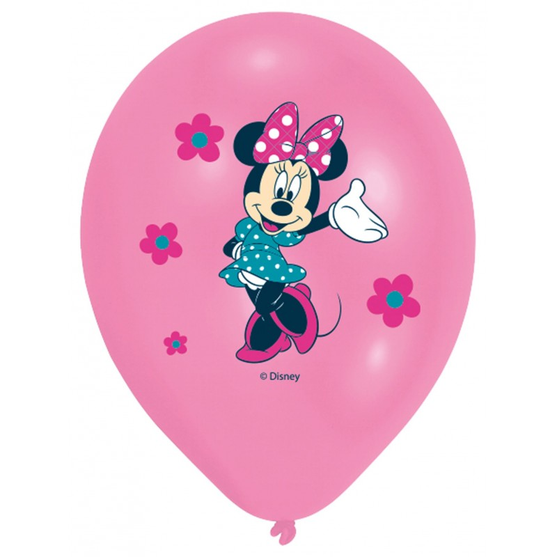 Minnie Mouse Balloons Multiple Colors (Cattex)