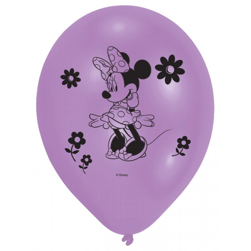 Minnie Mouse Balloons One Color (Cattex)