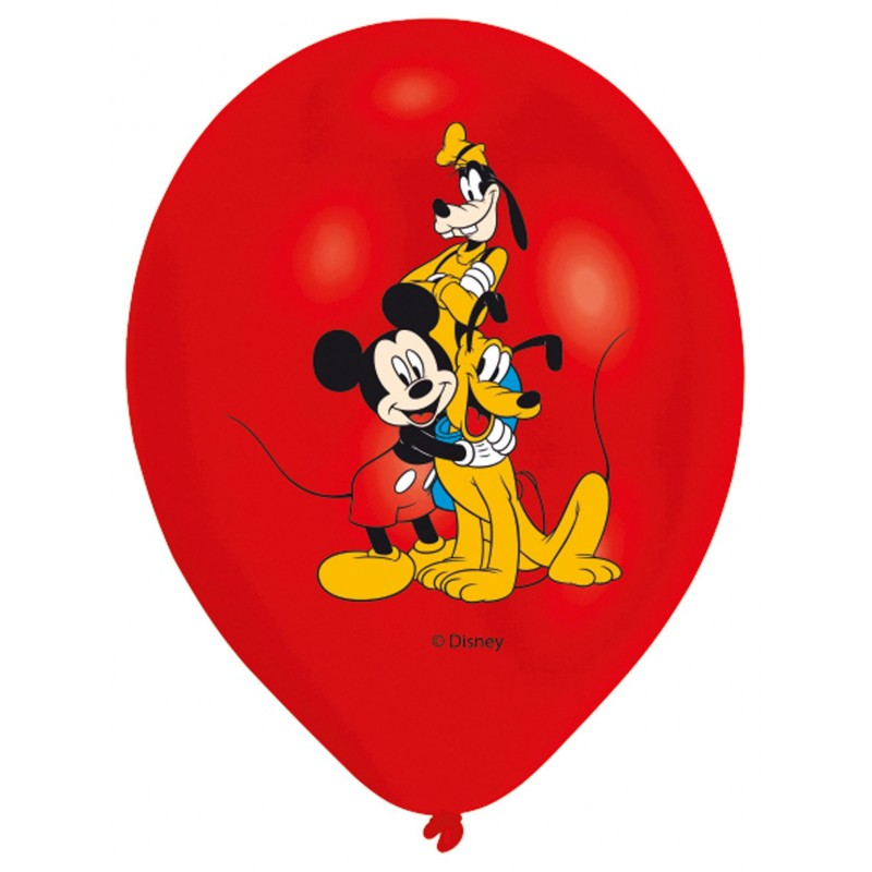 Mickey Mouse Balloons Multiple Colors (Cattex)