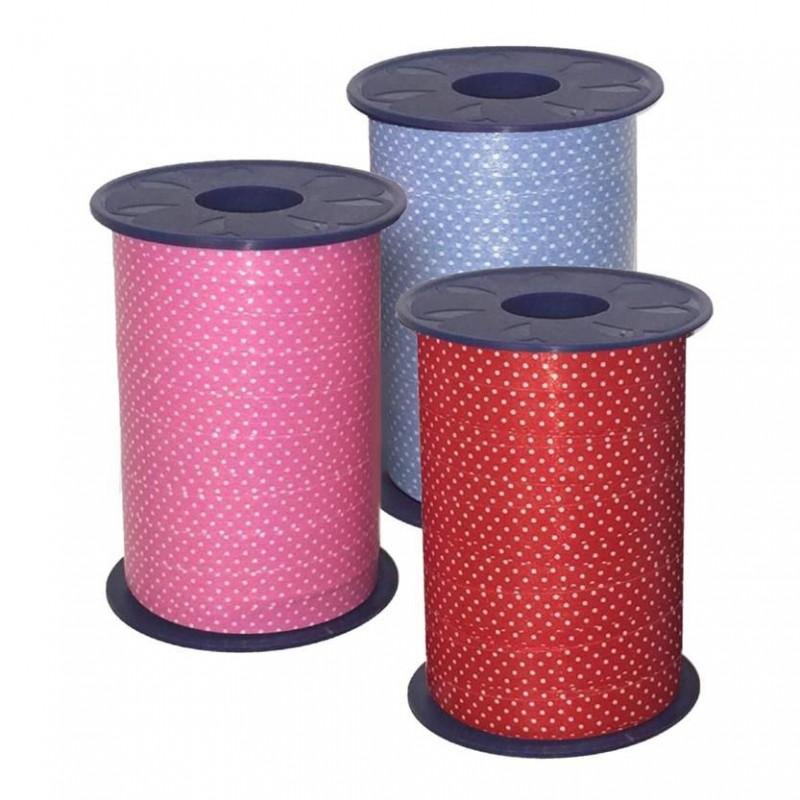 Decorated Mini Polka Dots Curling Ribbons (A072)