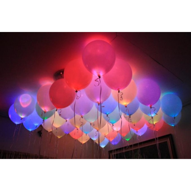 Colorful LED Lights For Balloons (Cattex)