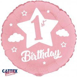 "CTX - Primo Compleanno Rosa Baby (18"")"