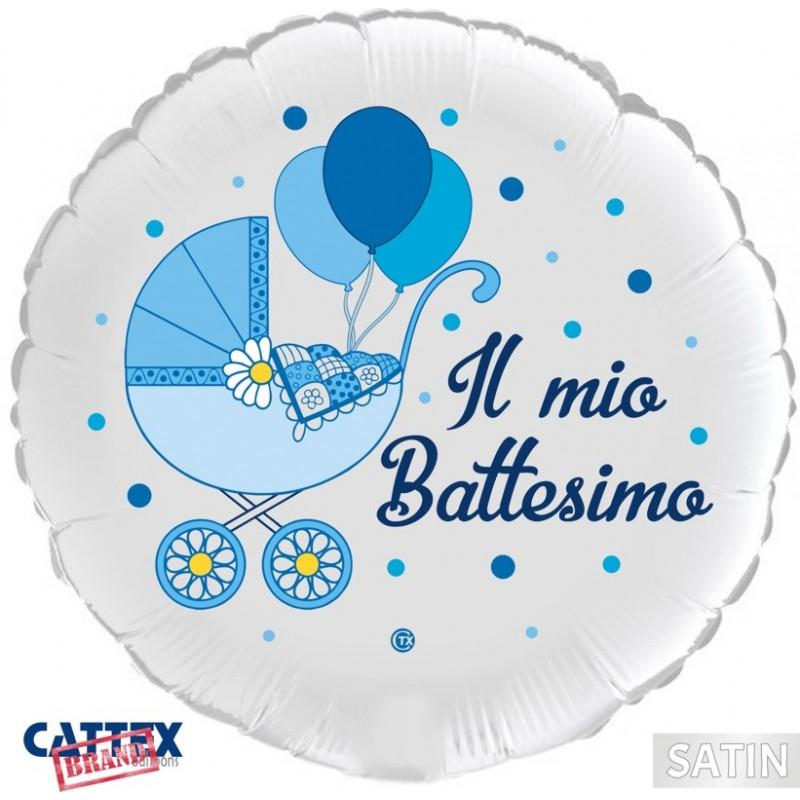 "CTX+ - Baptism Baby Boy Buggy (18"")(PM/CT132)"