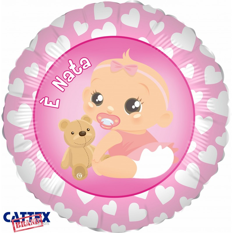 """Cattex - Mylar Balloons It's a Girl! (18"""")"""