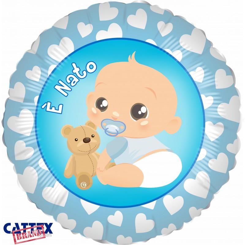 "Cattex - Mylar Balloons It's a Boy! (18"")"