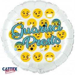 "CTX+ - Guarisci Presto Emoji (18"")"
