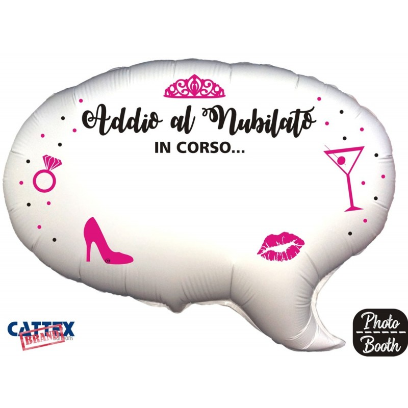 "Cattex - Mylar Balloons Bachelorette Party Selfie (24"")"