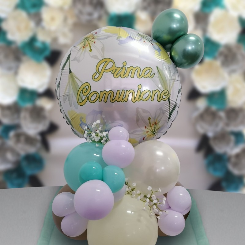 """Cattex - Mylar Balloons First Communion Lily (18"""")"""