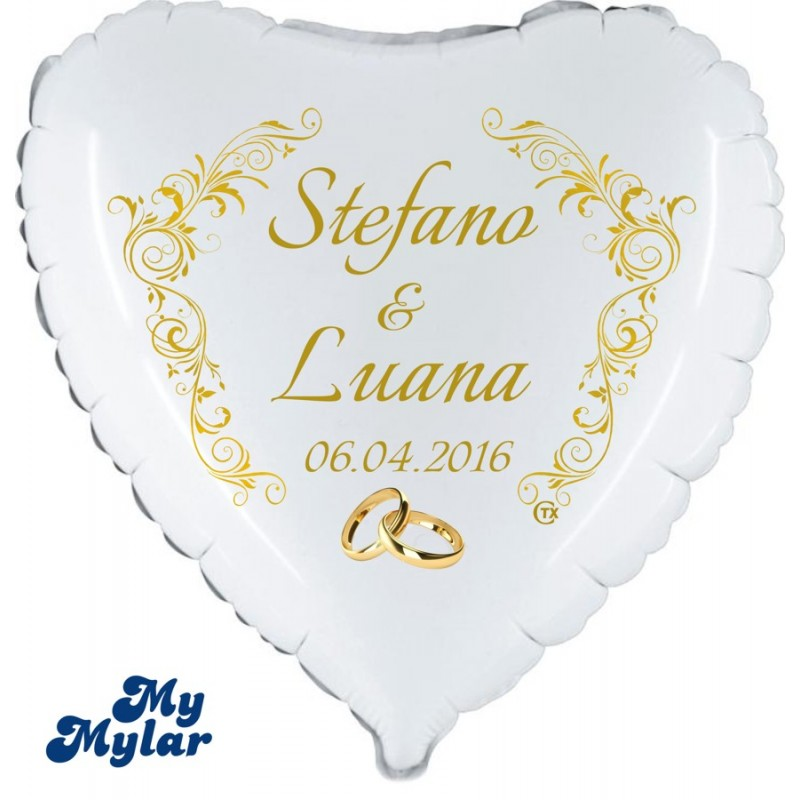 Mymylar Just Married Names 18 Pm Mm011