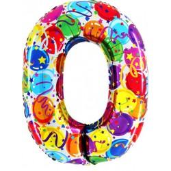 """40"""" Numero """"0"""" Decorati Maxi"""
