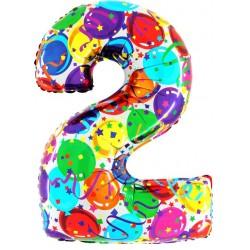 """40"""" Numero """"2"""" Decorati Maxi"""