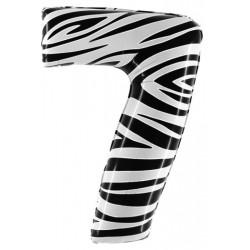 "Zebraloon Maxi Numero ""7"""