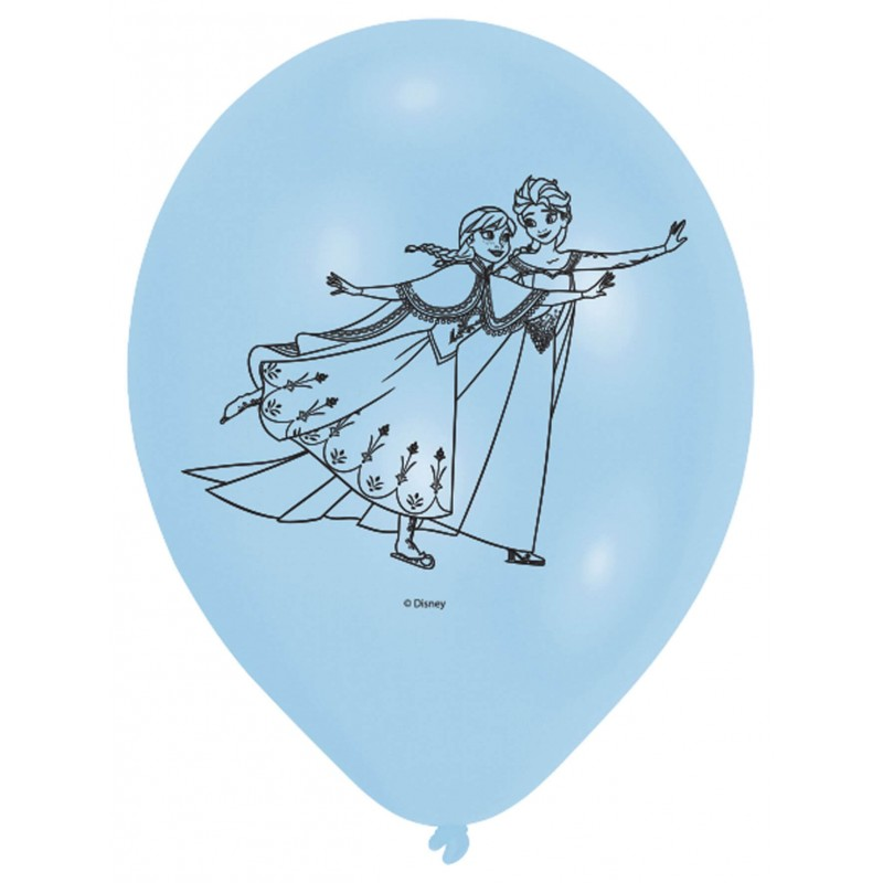 Cattex 9 inch disney frozen latex balloons