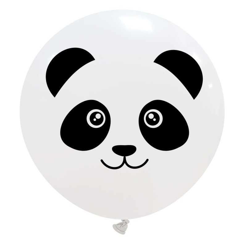 Cattex - White Giant Balloons With Panda Face