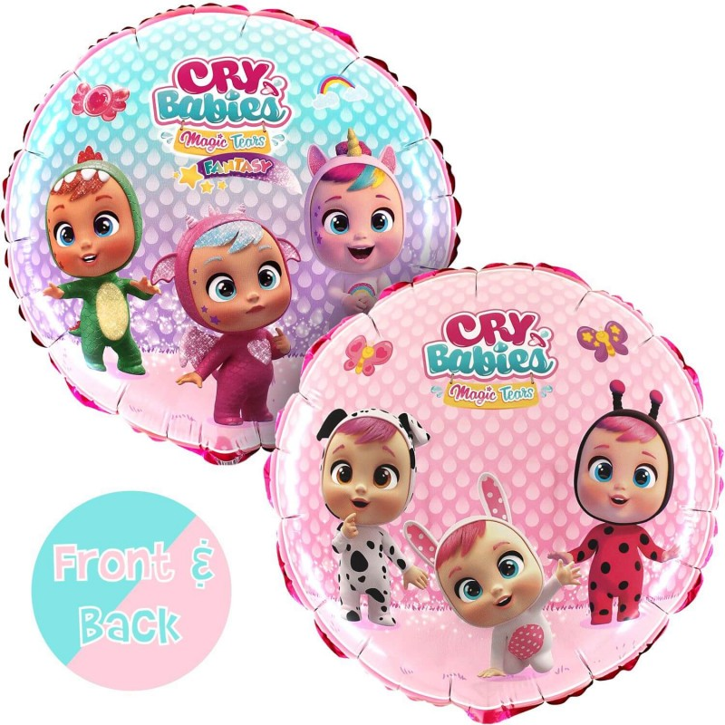 Cattex Cry Babies 18 Inch Foil Balloons