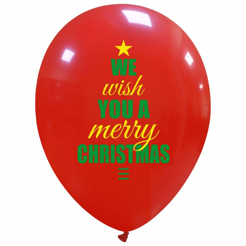 We Wish You a Merry Christmas Balloons