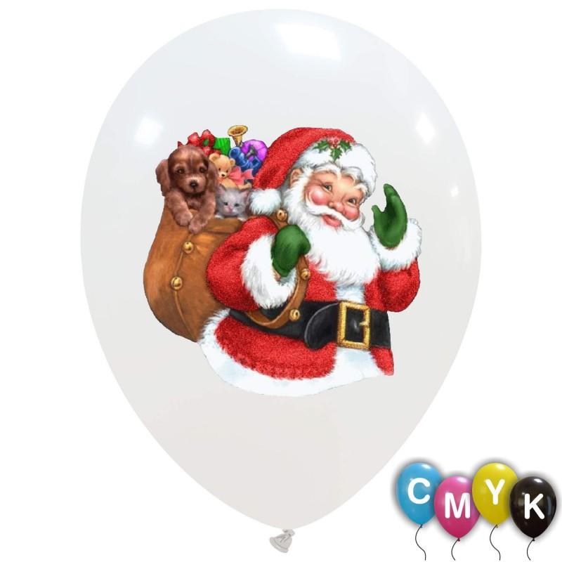 Santa Claus Balloons (CMYK) 100pcs