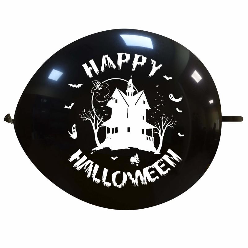 Cattex Palloncini Link Con Casa Stregata Halloween