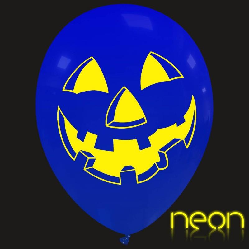 """12"""" Pumpkin Face Neon(PT/110DS.H1621N)"""
