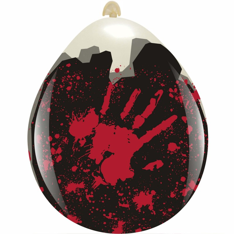 Bloody Hands 18 Inch Balloons (Cattex)