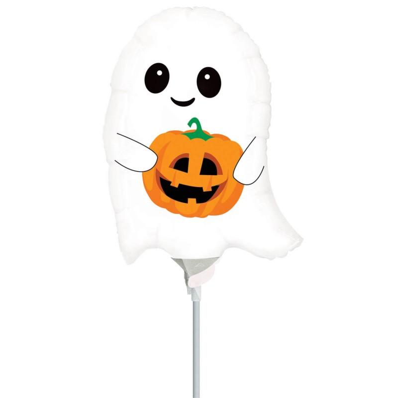 Cattex Cute Ghost Minishape Foil Balloons