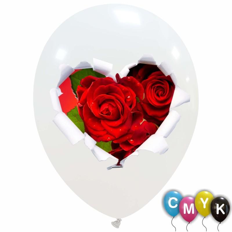 Roses Balloons (CMYK) 100pcs