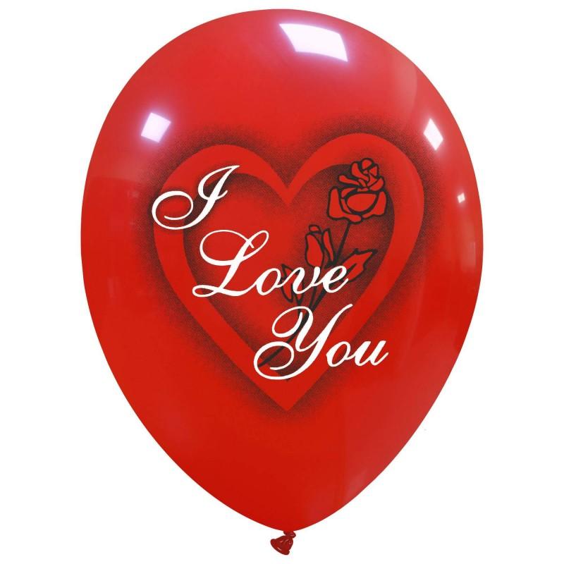 """12"""" I Love You Rose 2 Color(PT/110DS.L9572)"""