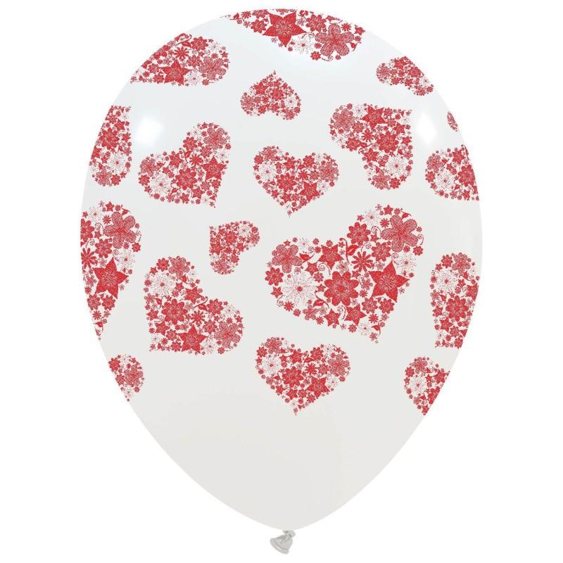 """12"""" Hearts Flowers(PT/110DS.L1111T - PT/110DS.L0111T)"""