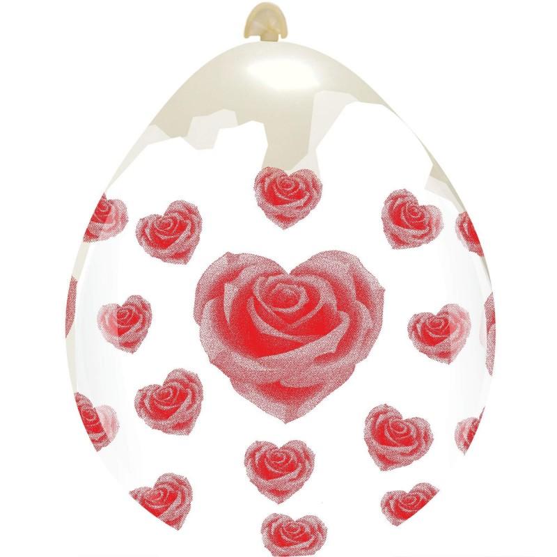 """18"""" Rose Hearts(PT/18DS.D1131T)"""