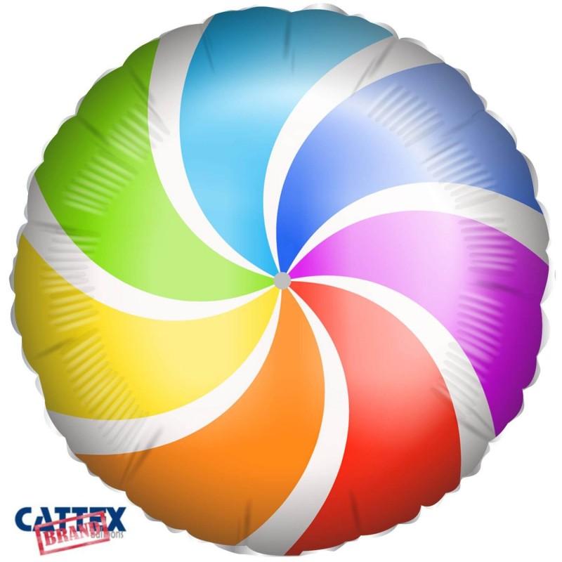 Cattex 18 Inch Lollipop Foil Balloons