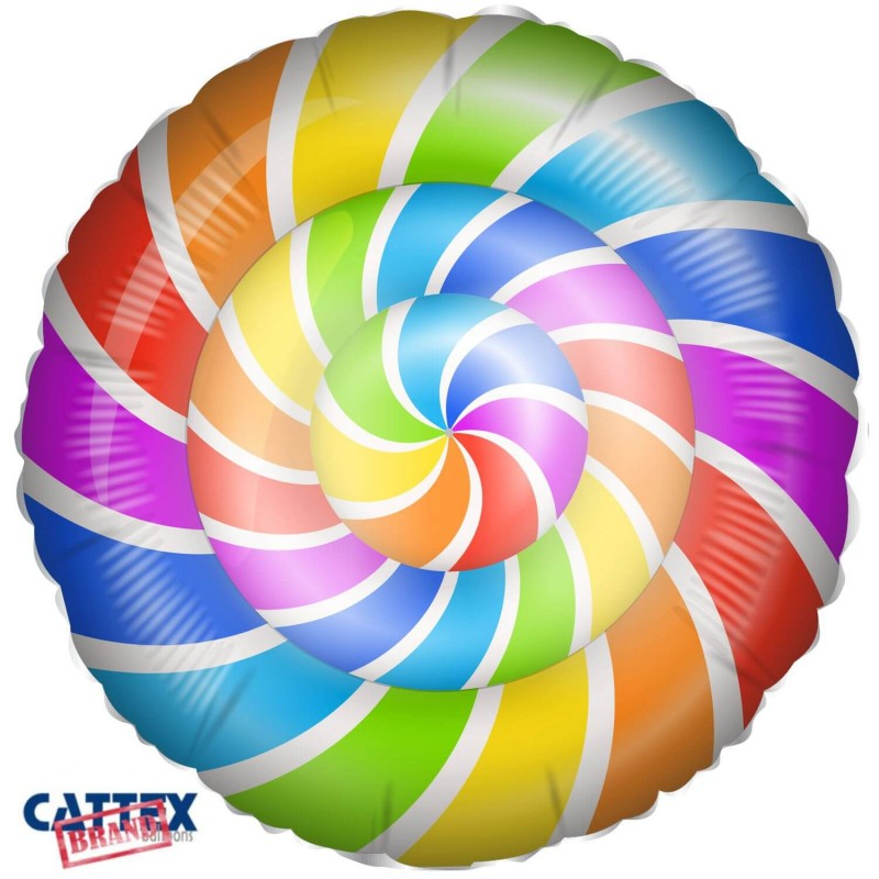 Cattex 18 Inch Colorful Lollipop Foil Balloons