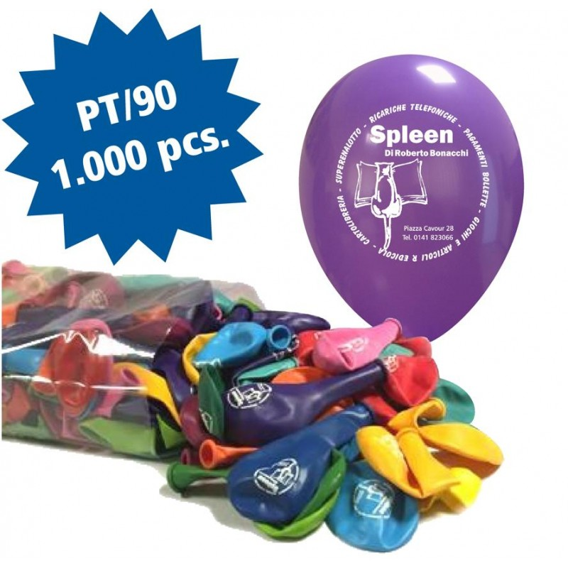 Cattex 1000 Customizable 10 Inch Colored Balloons