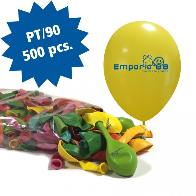 Cattex 500 Customizable 10 Inch Colored Balloons