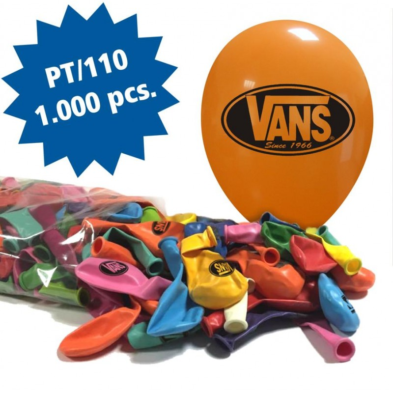 Cattex 1000 Customizable 12 Inch Colored Balloons