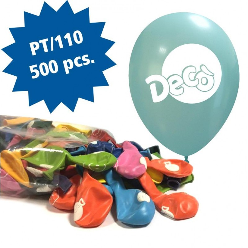 Cattex 500 Customizable 12 Inch Colored Balloons