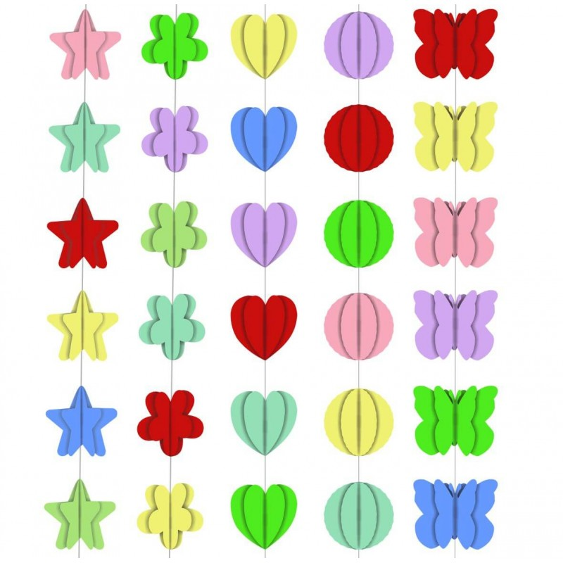 Cattex - Decorated 3D Ribbon For Balloons