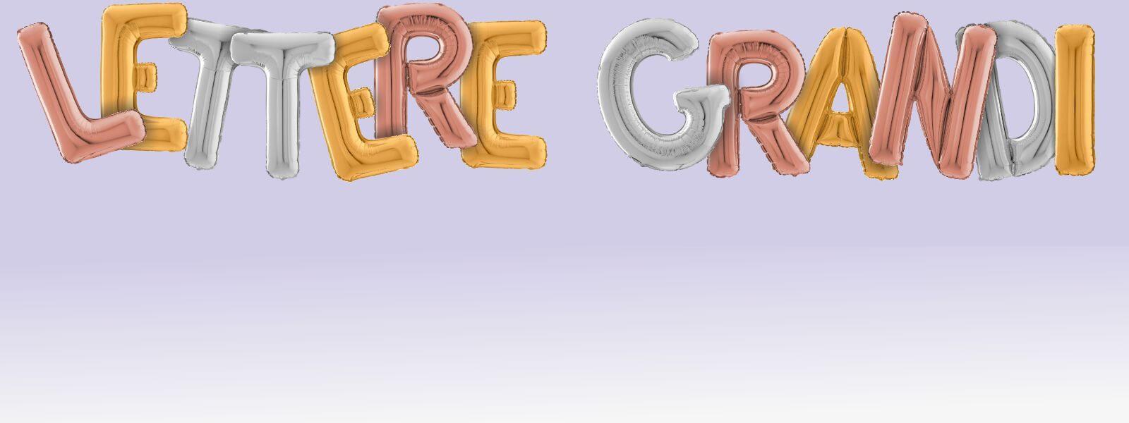 cattex palloncini mylar a lettera da 26 pollici