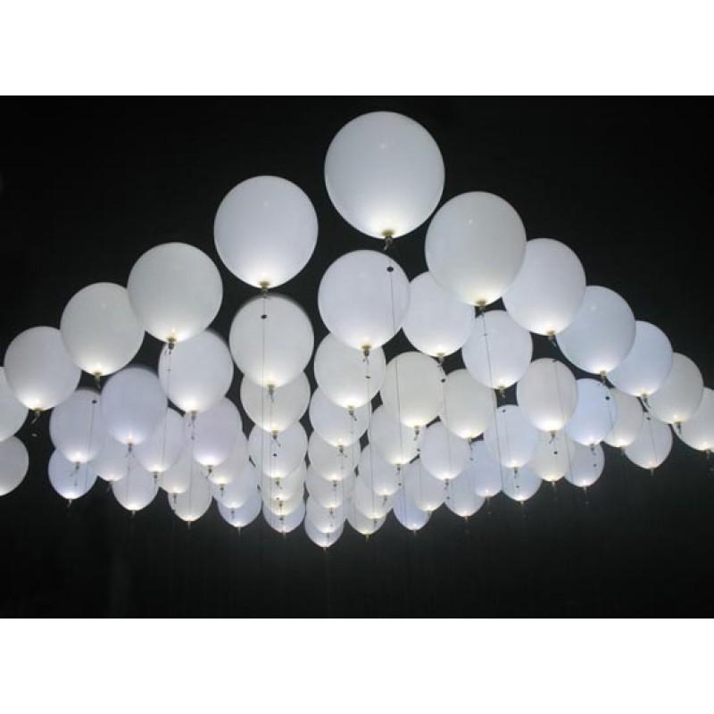 White LED Lights For Balloons (Cattex)