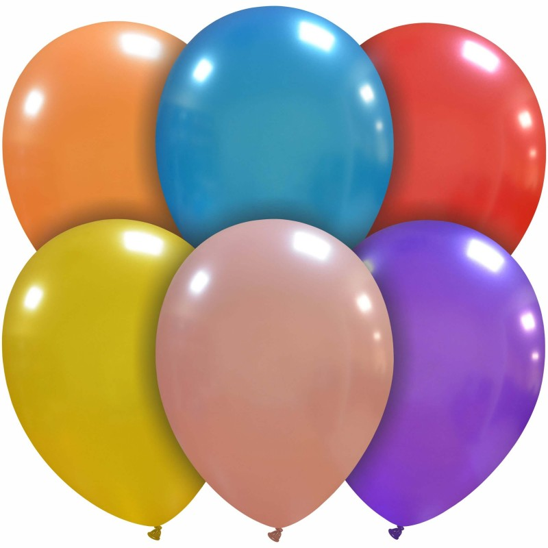 12 Inch Balloons Metal Colors (Cattex)