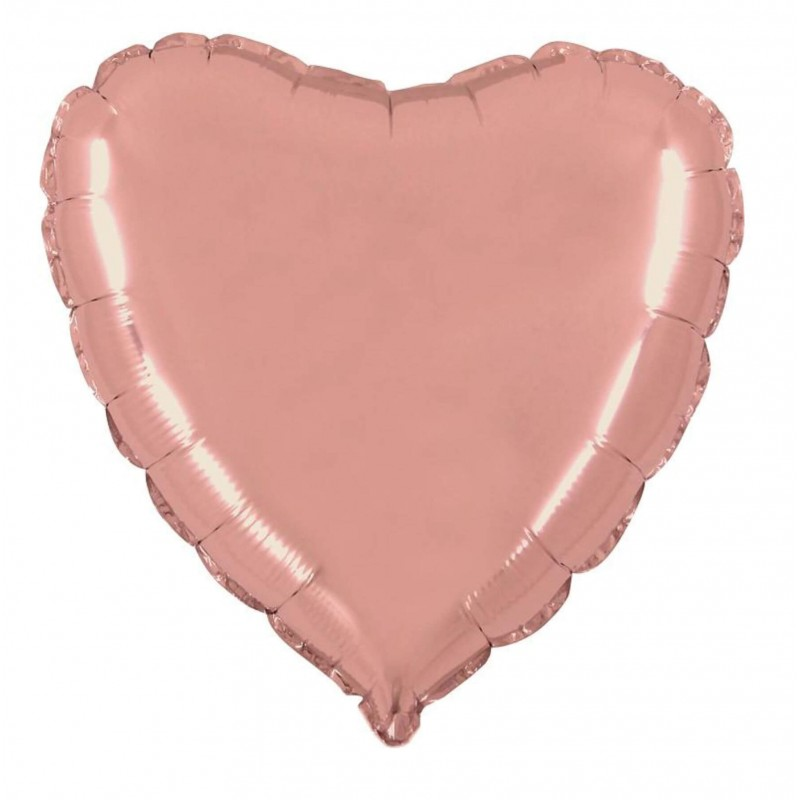 Cattex 22 Inch Heart Shaped Foil Balloons