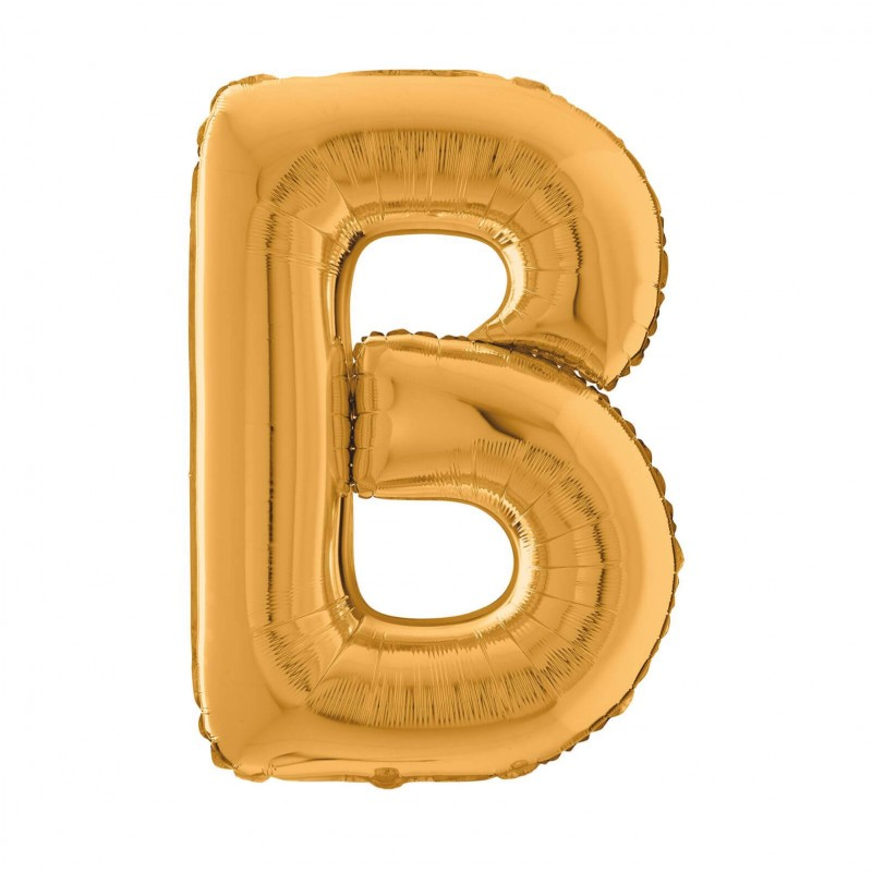 Cattex 26 Inch Letter B Shaped Foil Balloons