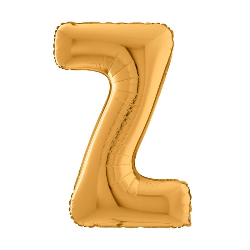 Cattex 26 Inch Letter Z Shaped Foil Balloons