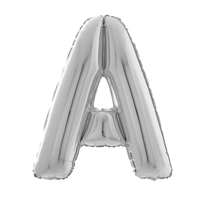 Cattex 26 Inch Letter A Shaped Foil Balloons