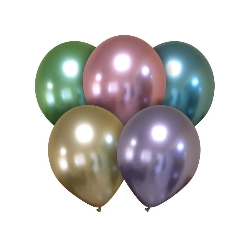 Cattex 5 Inch Latex Balloons Titanium+ Colors